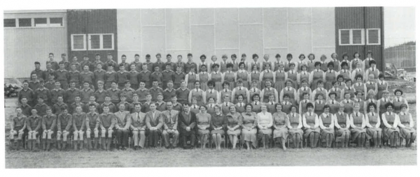 1960 Spotswood college fondation students