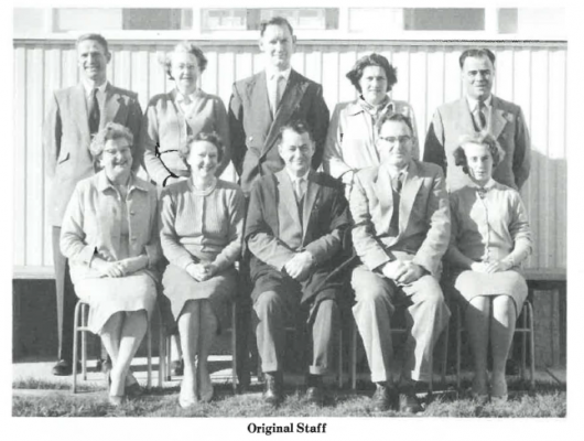 1960 foundation staff
